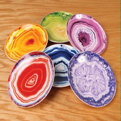 Marbled Party Plates