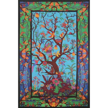 3D Tapestries With 3D Glasses - Tree Of Life