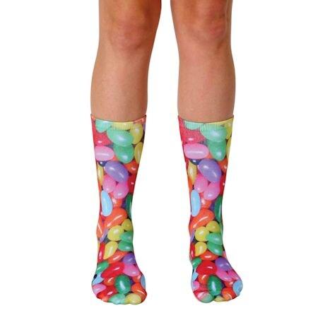 Jelly Bean Crew Socks