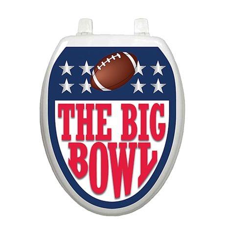 The Big Bowl Football Toilet Tattoo