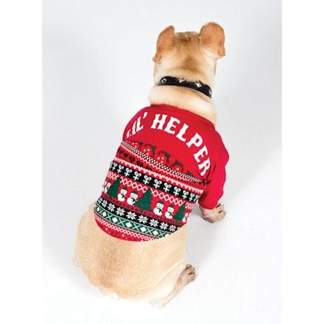 Lil' Helper Dog Holiday Sweater