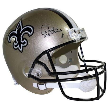 Archie Manning Signed New Orleans Saints Riddell Full Size Replica Helmet