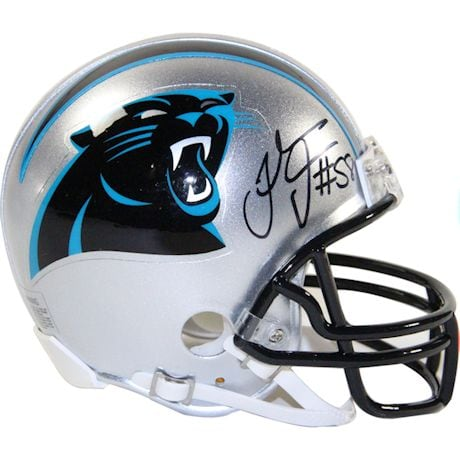 Thomas Davis Signed Carolina Panthers Mini Helmet (JSA Auth)