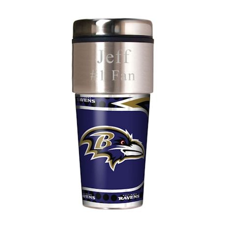 Personalized NFL Travel Mug