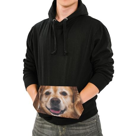 Golden Retriever Sublimated Pocket Hoodie