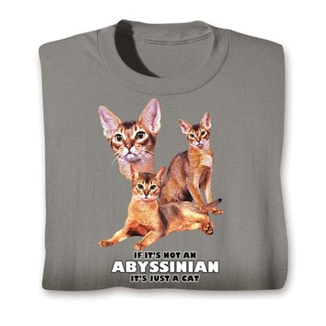 Cat Breed Shirts