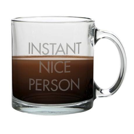 Instant Glass Coffee Mug