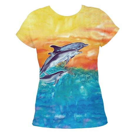 Ladies Dolphin Sublimated Tee