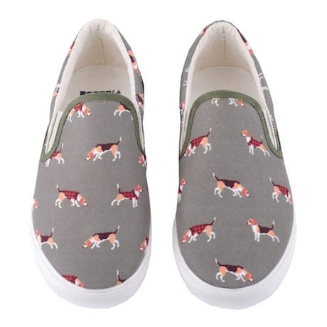 Beagle Slip on Women's Sneaker