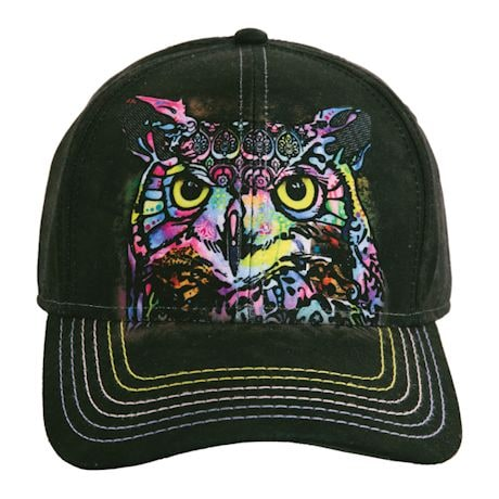 Animal Baseball Hats - Owl