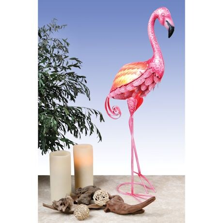 Flamingo Metal Lamp