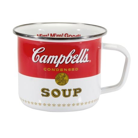 Giant Enamelware Mugs - Campbell's Soup
