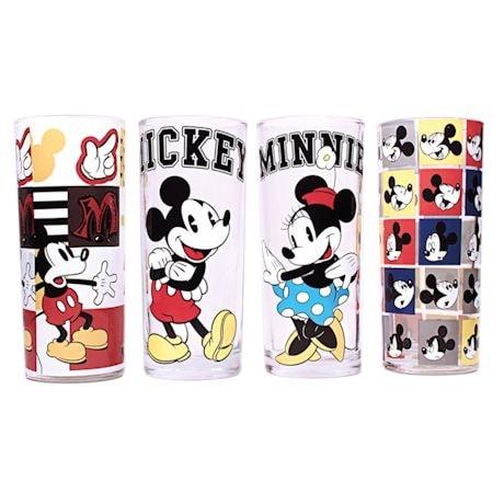 Mickey & Minnie Tumbler Glass Set