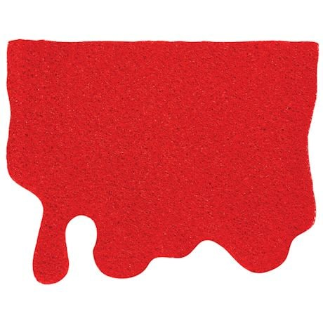 Blood Splatter Doormat