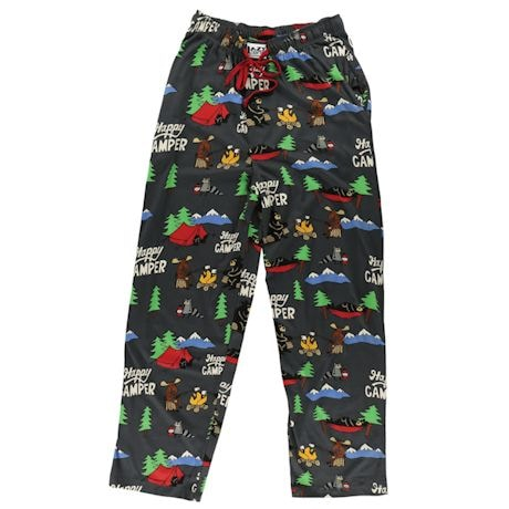 Humor Lounge Pants - Happy Camper