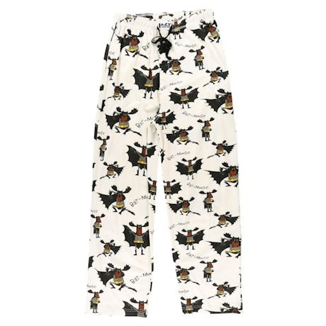 Humor Lounge Pants - Bat Moose