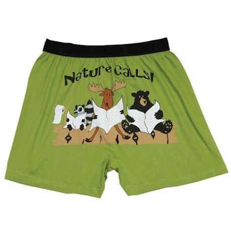 Comical Boxers- Nature Calls