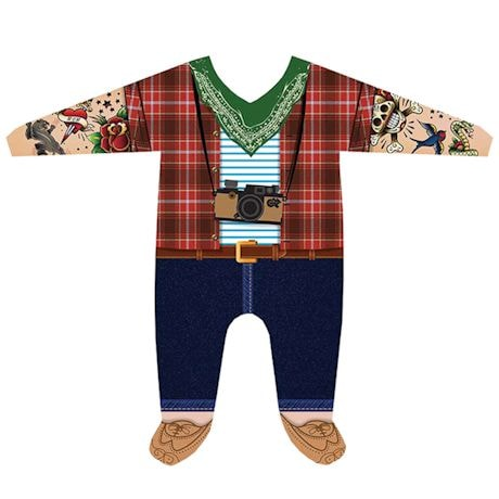 Novelty Baby Snapsuits - Hipster