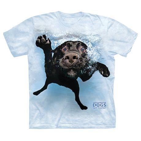 Underwater Dogs Tees - Black Lab