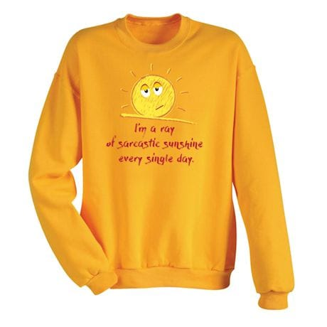 Sarcastic Sunshine Shirts