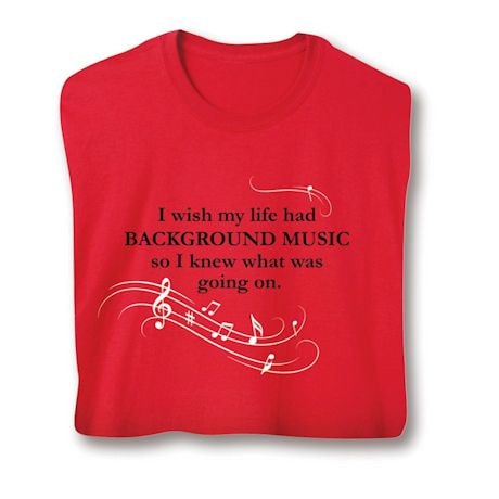 Background Music Shirts
