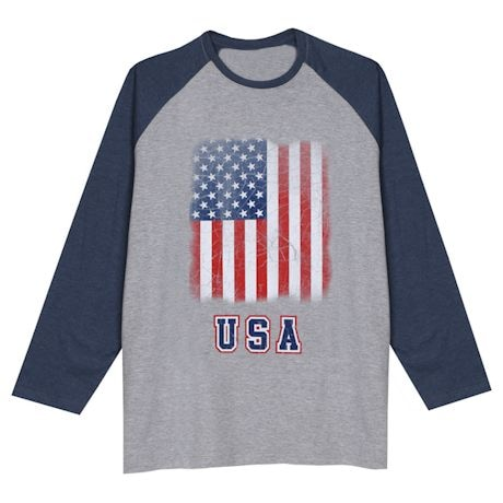 Country Flag Raglan Tees