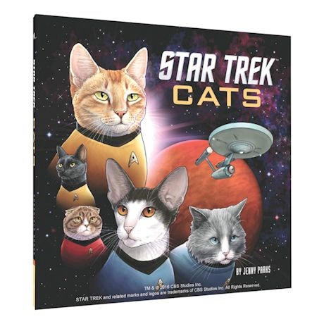 Star Trek Cats Book