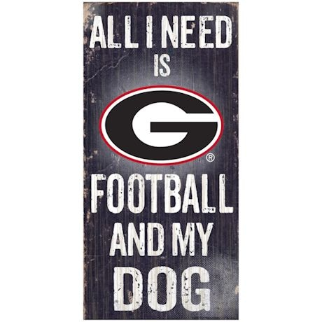 All I need is Football and My Dog NFL