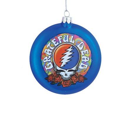Grateful Dead™ Ornaments - Steal Your Face Disc