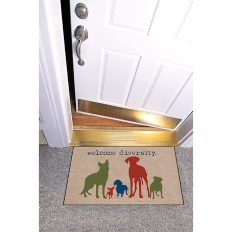 High Cotton Front Door Welcome Mats - Welcome Diversity