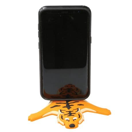 Wild Orange Tiger Bendable Magnetic Holder W/Card Pack