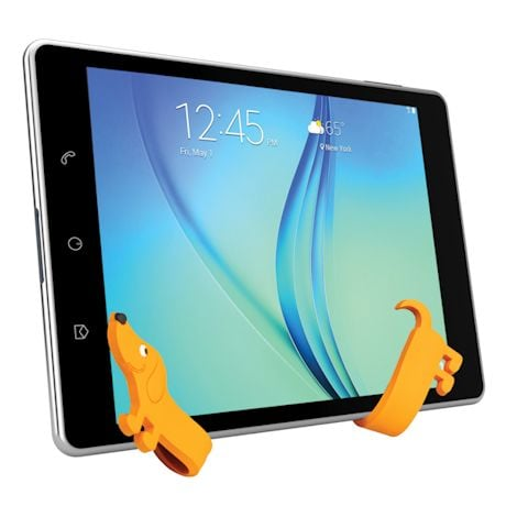 Bendable Dachshund Cell Phone Stand/Cable Tie