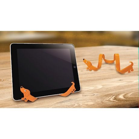 Dachshund Bendable/Cell Phone Stand/Cable Tie