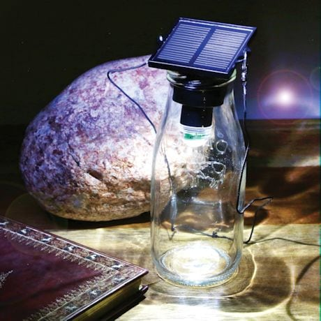 Solar Led Bottle Light & Flashlight
