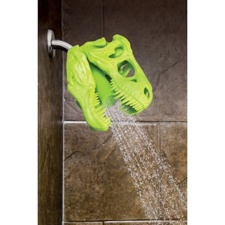 Wash 'N Roar T-Rex Shower Head - Green