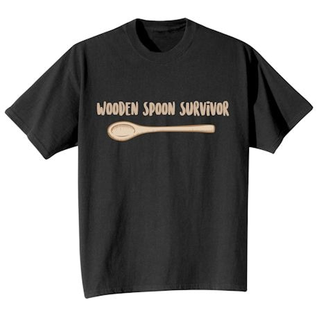 Wooden Spoon Survivor Shirts