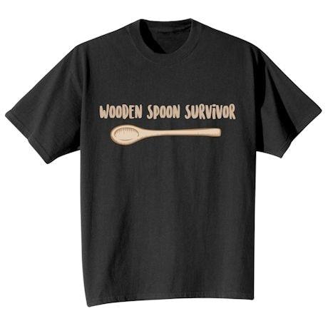 Wooden Spoon Survivor Shirts