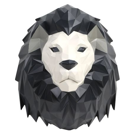3-D Origami Animal Wall Art - Lion