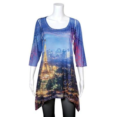 Majestic Skylines Tunics - Paris