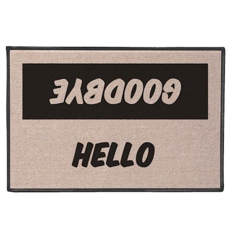 International Hello/Goodbye Doormats - English