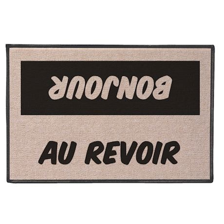 International Hello/Goodbye Doormats - French