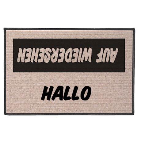 International Hello/Goodbye Doormats - German