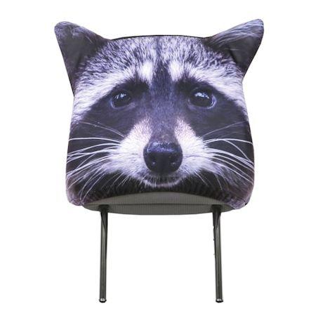 Animal Headrest Covers - Raccoon