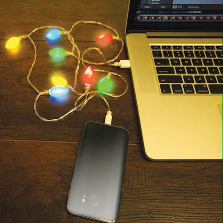 USB String Light Chargers - Holiday Lights