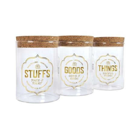 Stash Jar Set