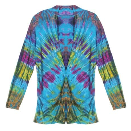 Mudmee Tie Dye Spandex Cover Up