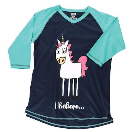 I Believe Unicorn Sleep Tee