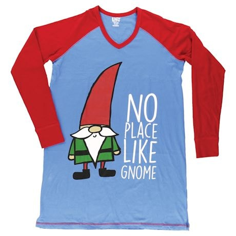 No Place Like Gnome Sleep Shirt