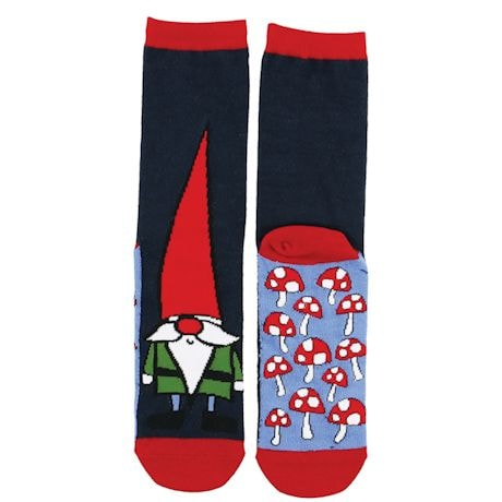 No Place Like Gnome Socks