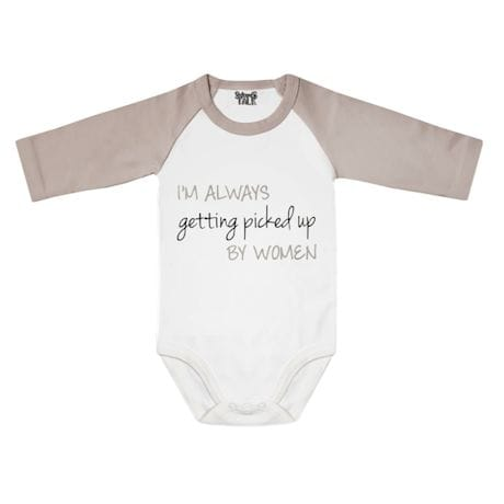 Babies With Attitude - Always Getting Picked Up Romper
